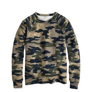 J.Crew Camouflage Sweatshirt S